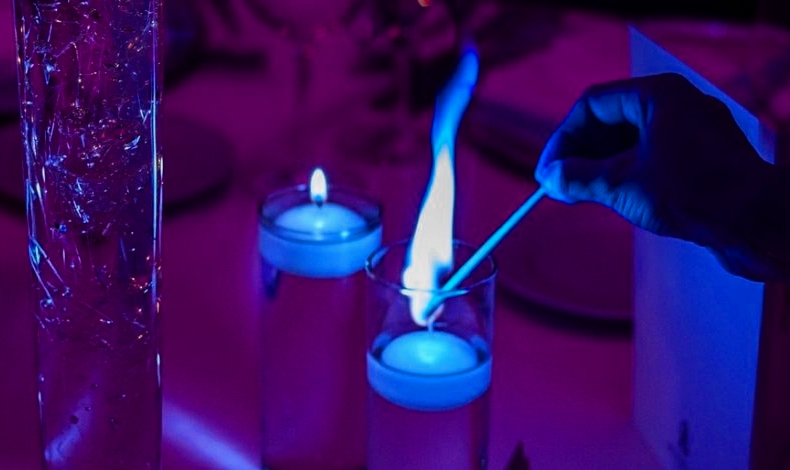 Image result for purple candle magic