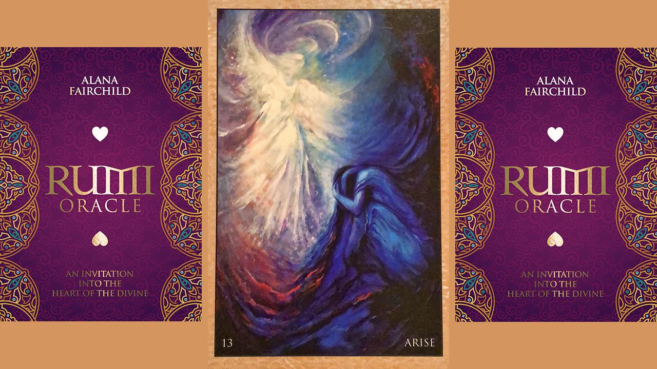 Rumi Oracle Card Arise